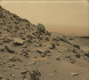 Image taken by Mars Curiosity rover courtesy of NASA